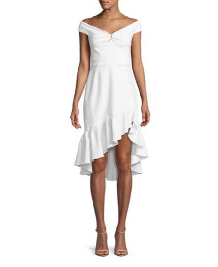 Wayf Ruffled Off-The-Shoulder Dress from Lord & Taylor