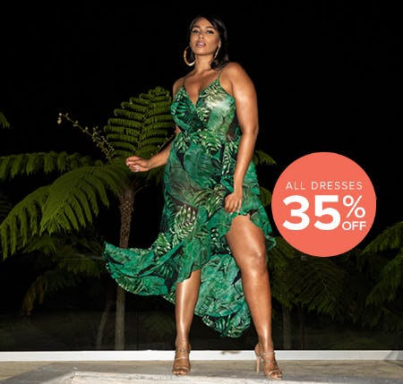 All Dresses 35% Off from Fashion To Figure