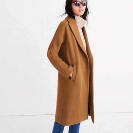 Atlas Cocoon Coat