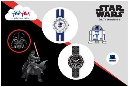 Star Wars and Flik Flak from Swatch