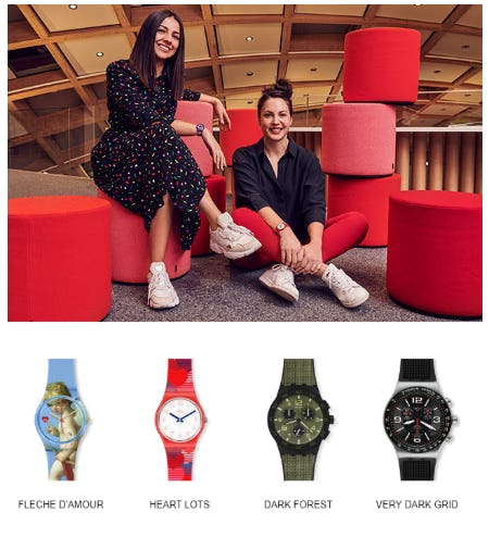 Gifts of Love from Swatch