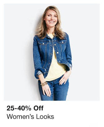 25-40% Off Women's Looks from macy's