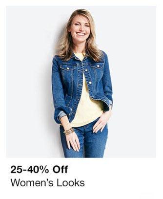 25-40% Off Women's Looks from macy's