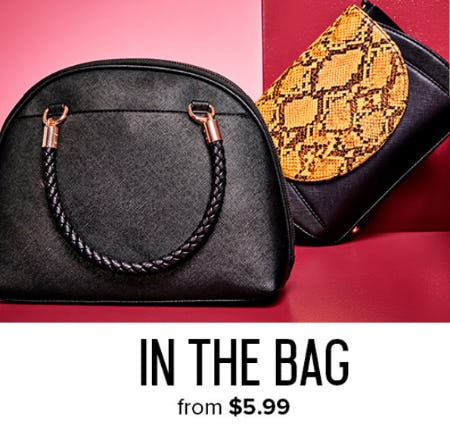In the Bag From $5.99 from Rainbow
