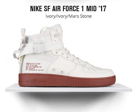 Nike SF Air Force 1 Mid '17