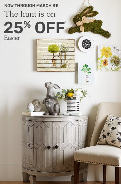 25% Off Easter from Pier 1 Imports