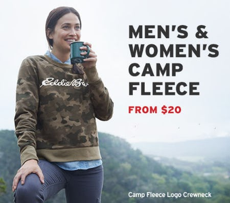Men's & Women's Camp Fleece from $20