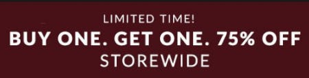 Buy One, Get One 75% Off Storewide from Lane Bryant