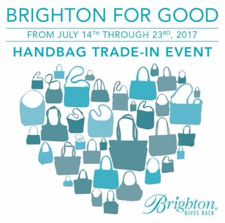 Brighton for Good | Handbag Trade-In Event
