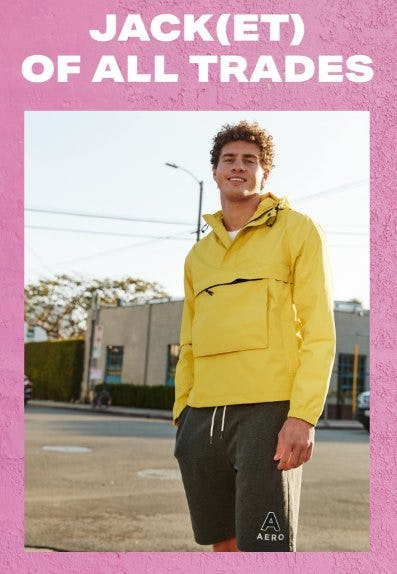 Meet the New Active Utility Anorak Jacket from Aéropostale