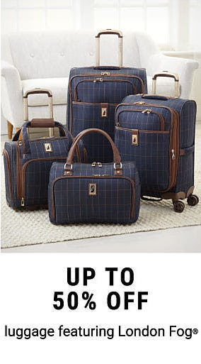 Up to 50% Off Luggage from Belk