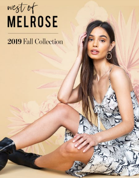 West of Melrose: 2019 Fall Collection