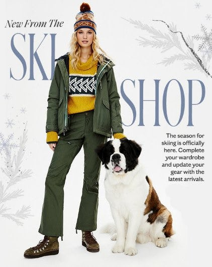 Explore our Latest Arrivals from the Ski Shop from Free People