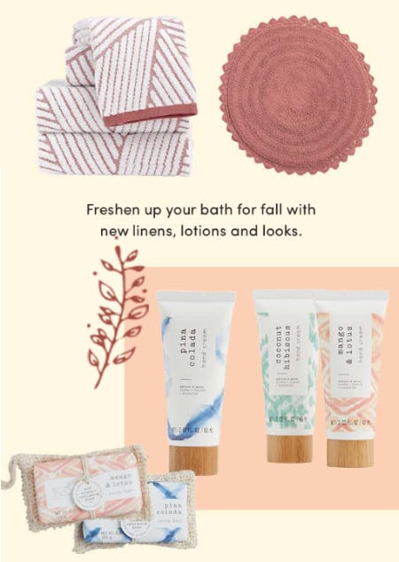 Personal Care & Bath from Cost Plus World Market
