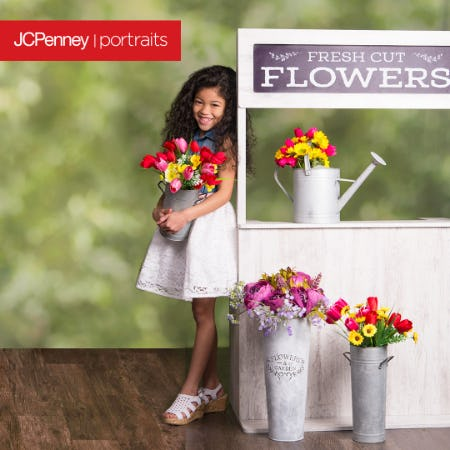 Flower Shop Photography Event from JCPenney Portraits