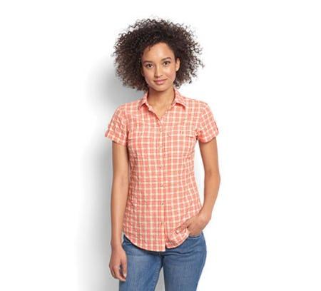 Women's Rainy Bridge Short-Sleeved Tech Shirt from Orvis