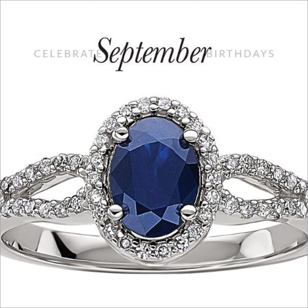30% Off: September Sapphire Birthstone Jewelry Sale