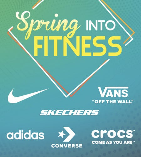 Spring into Fitness! from SHOE DEPT. ENCORE