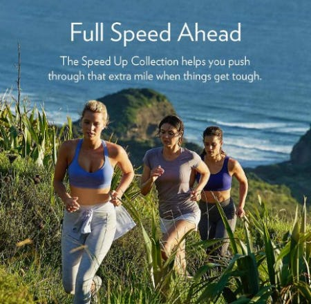Shop The Speed Up Collection from lululemon