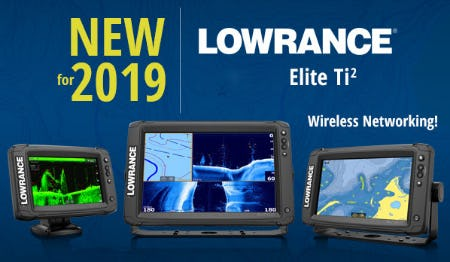The New Lowrance® Elite Ti2 Wireless Networking
