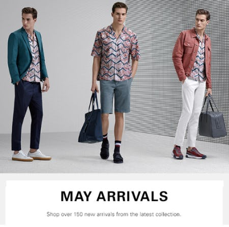 May Arrivals from Hugo Boss