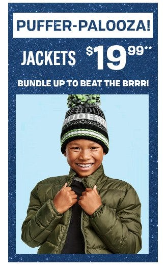 $19.99 Jackets from The Children's Place Gymboree