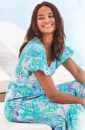 New Knit Dresses from Lilly Pulitzer