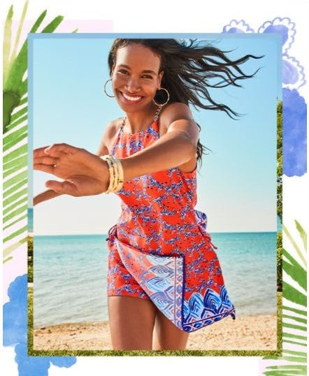 A Lilly Favorite: The Shift Romper from Lilly Pulitzer