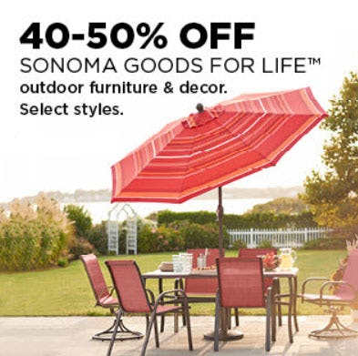 40-50% Off Sonoma Goods For Life from Kohl's