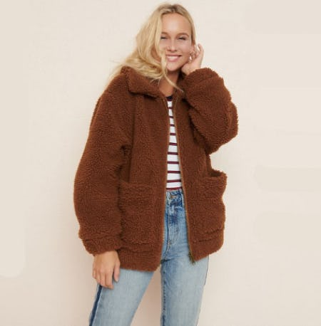 Pixie Sherpa Jacket from Garage