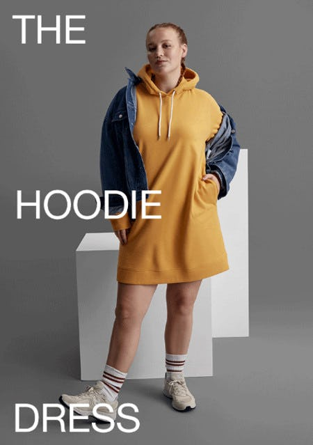 The New Hoodie Dress from Gap