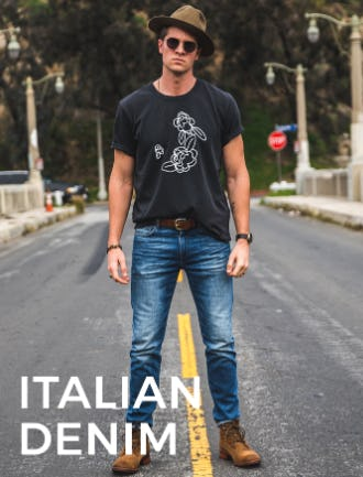 Travel-Ready Italian Denim from 7 for All Mankind
