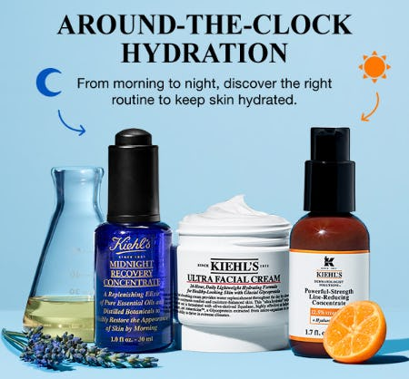 Around-The-Clock Hydration from Kiehl's