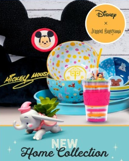 New Jerrod Maruyama Home Collection from Disney Store