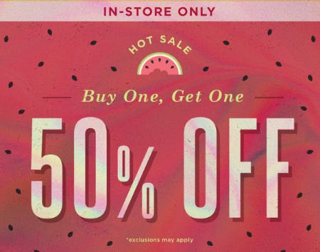 BOGO 50% Off Hot Sale from Earthbound Trading Company