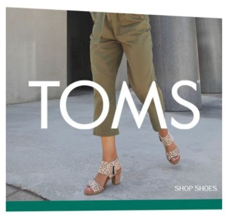 TOMS: Always Moving Forward