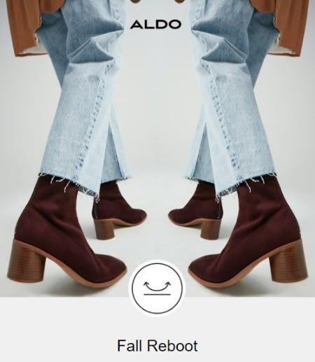 Fall Reboot from ALDO