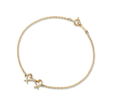 Paloma Picasso Double Loving Heart Bracelet from TIFFANY & Co.