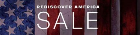 Rediscover America Sale