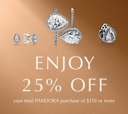 25% Off with $150 or More Purchase from Jared Galleria Of Jewelry