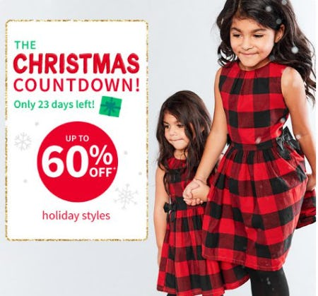 Up to 60% Off Holiday Styles from Carter's