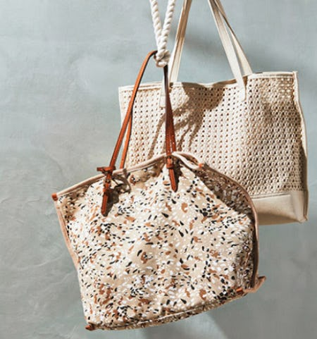 New Prints Bags for Spring from Anthropologie