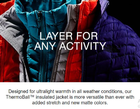 ThermoBall™ Insulated Jacket from The North Face
