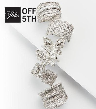 Time to Sparkle from Saks Fifth Avenue OFF 5TH