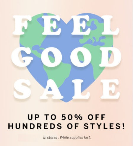 Up to 50% Off Feel Good Sale from Victoria's Secret