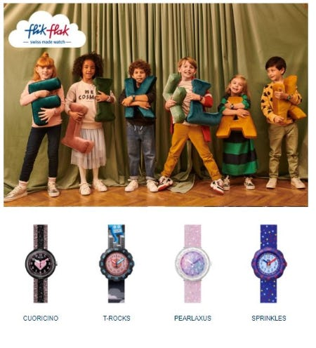 Flik Flak Imagination Collection from Swatch