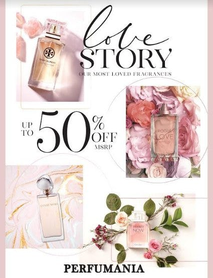 Our Most Loved Fragrances Up to 50% Off from Perfumania