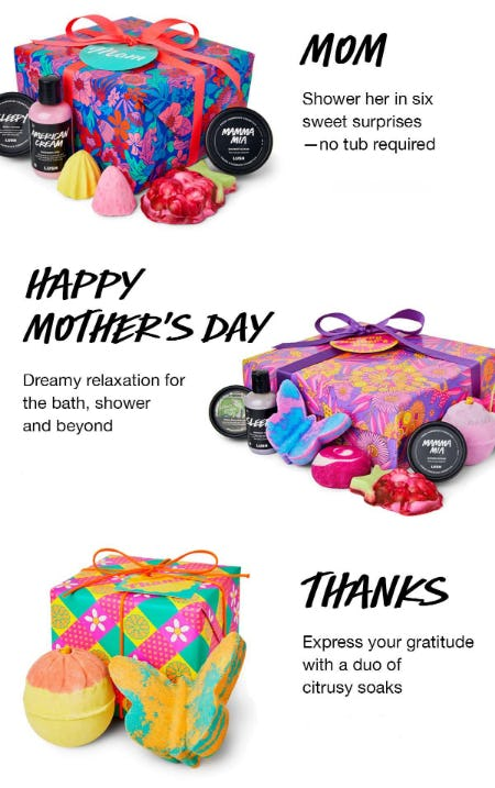 Mother's Day Gifts from LUSH