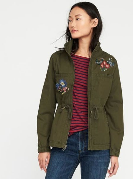 Twill Field Jacket for Women