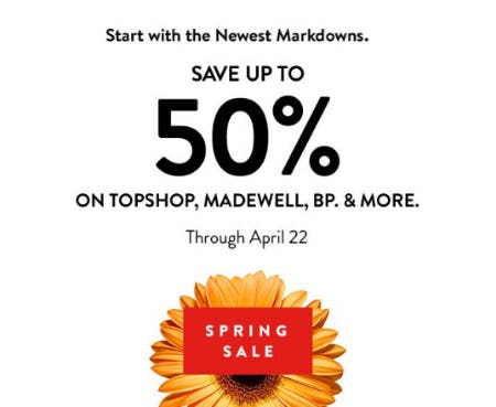 Spring Sale from Nordstrom